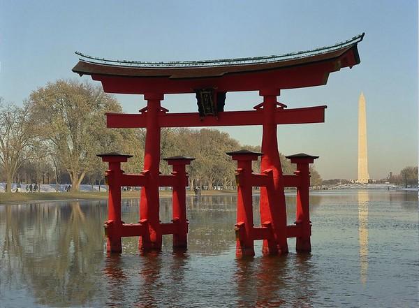 O-torii gate (manipulated photos)